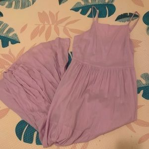 Old Navy new w/out tags tiered lavender maxi dress